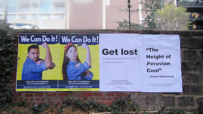 'We can do it' campaign by international students