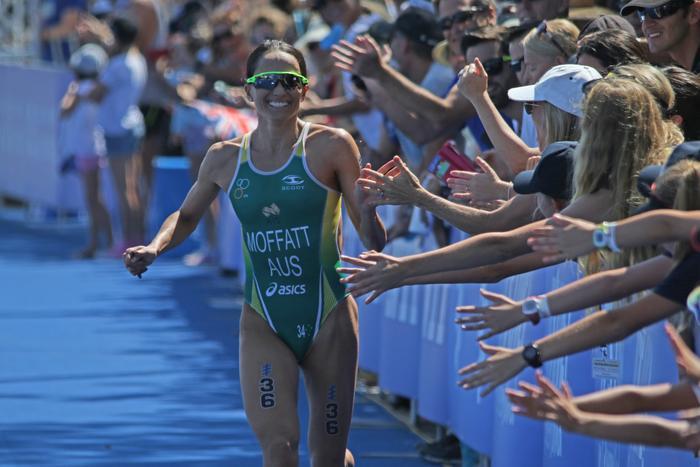 Emma Moffatt third time Olympian