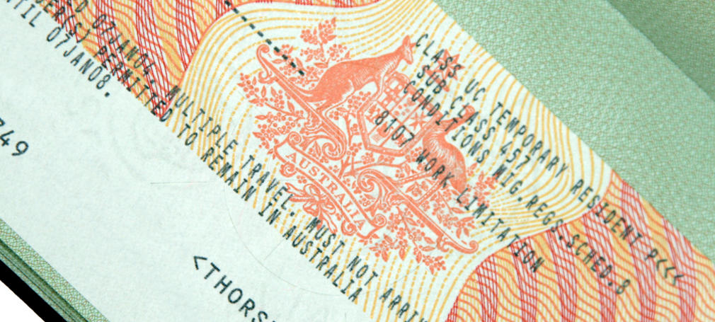 Australian Government  amend 457 visa conditions.