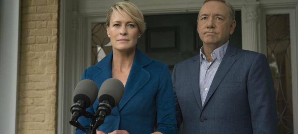 Frank and Claire Underwood from House of Cards.