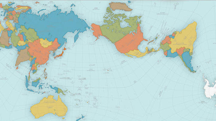 Us And World Map.Award Winning Map Finally Gives Us A Faithful Representation Of The