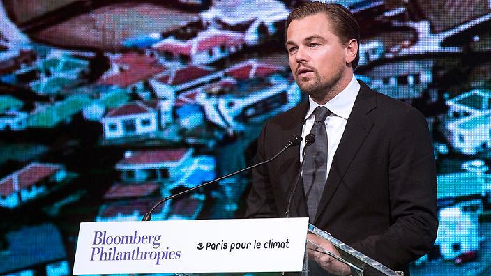 Leonardo Di Caprio's foundation announced a grant of $3.2 million to protect Indonesia's peatlands.