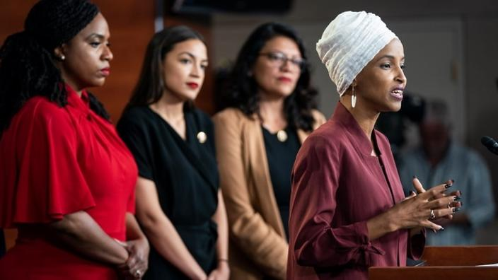 Why is Donald Trump attacking Ilhan Omar?   SBS Voices