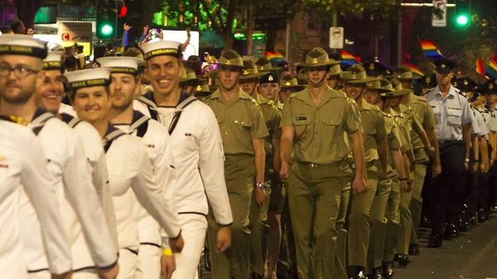 Gays and military missions