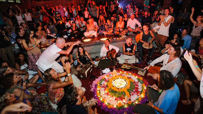 Kirtan at Bali Spirit Festival