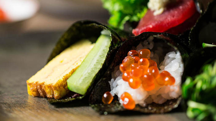 A key Japanese dietary guideline is to consume at least 30 different foods a day.