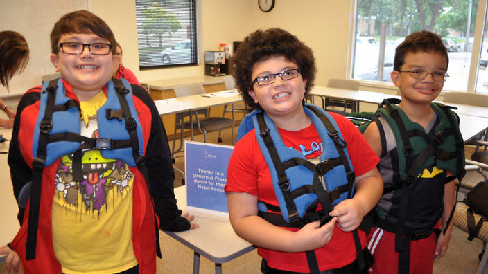 the backpacks that are improving the lives of children with autism
