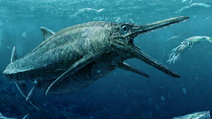 Forget Loch Ness, Scotland reveals real 170 million-year-old sea