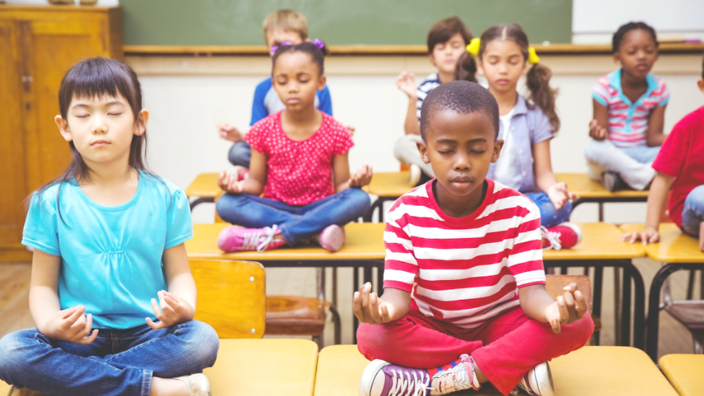 Meditation for kids: How quieting the mind helps children