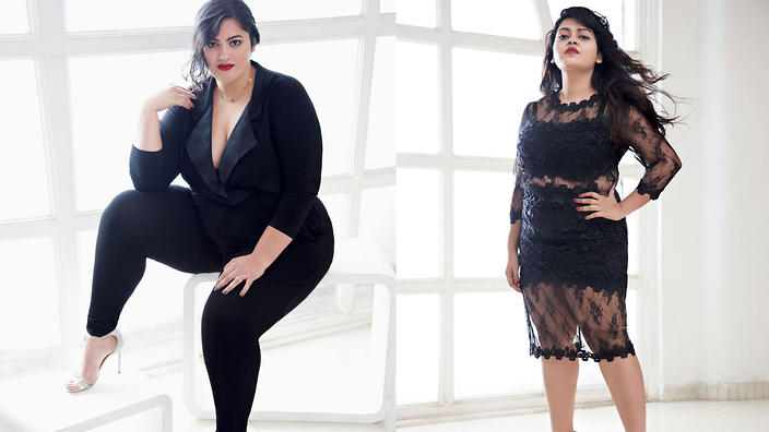 f1d9d654c50 Meet the plus size fashionistas starring in Elle India s new issue ...