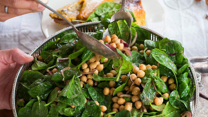 Spinach promotes gut health