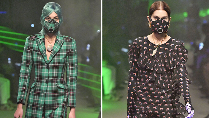 Haute couture face masks at Paris Fashion Week highlight hypocrisy ...