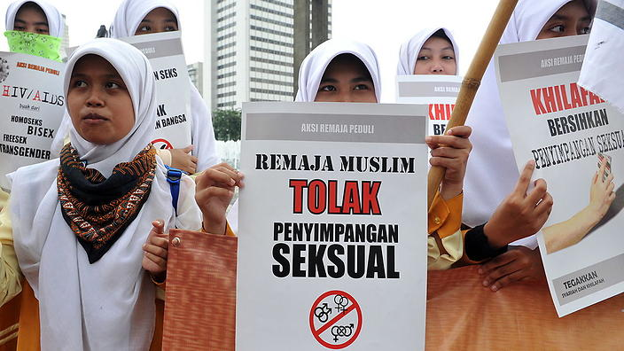 Indonesian laws on homosexuality