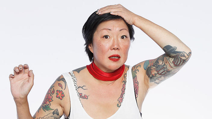 Margaret Cho and chris isaak