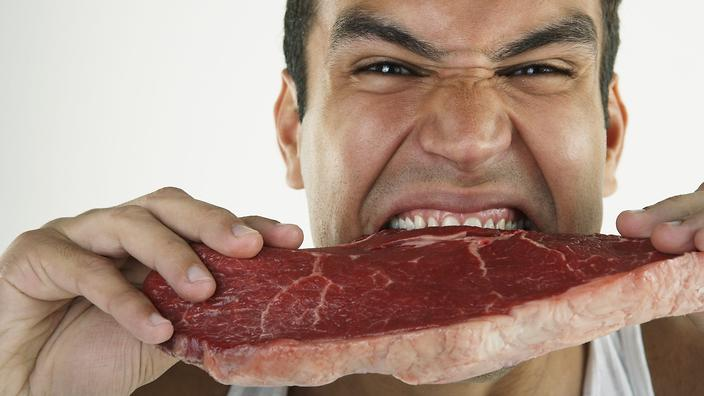 Meat protein facial