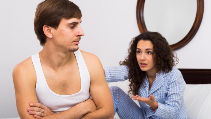Wife enjoys husbands shoe fetish
