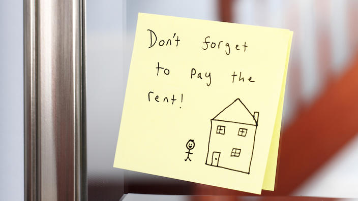 A hot property market has led to a sharp increase in rents.