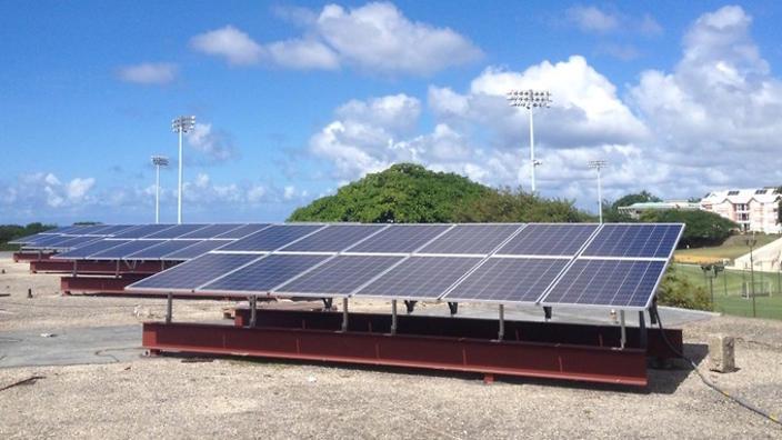 solar power in barbados
