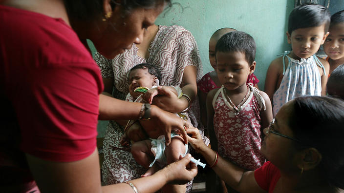 hep b vaccination in rural India
