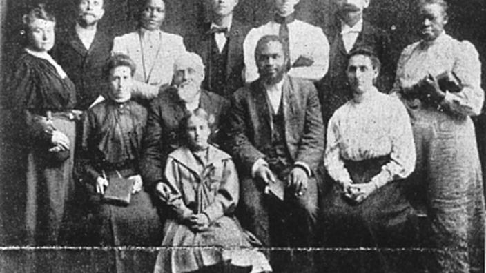 The leaders of the Apostolic Faith Mission, many of which were women, 1908.