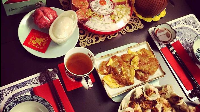 """""""For me, the New Year Festival is about getting the family together as well as food – food is very important."""""""