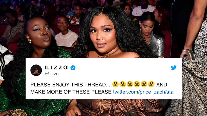 Lizzo Is Really Loving Her New Meme Sbs Voices