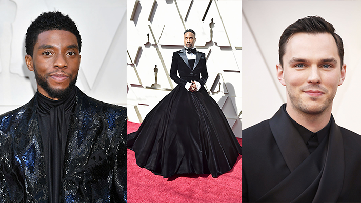 The men of Hollywood are embracing fashion at the Oscars