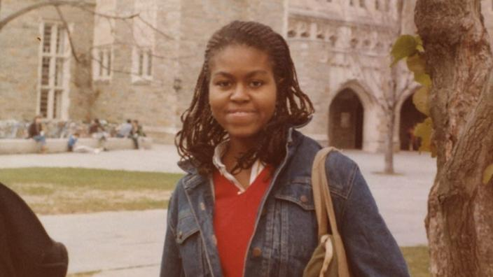 Michelle Obama reveals never before seen pictures ahead of ...