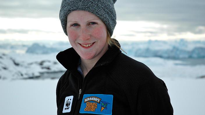 Ruth Dawkins in the Arctic