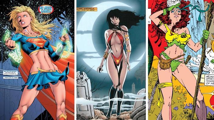 Superhero women hot nak congratulate