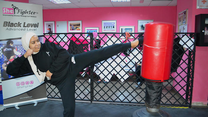 The Middle East's first self-defence gym for women | SBS Life