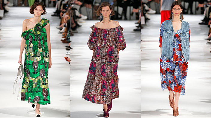Stella Mccartney Accused Of Fashion Colonialism After Showing African Inspired Prints Sbs Life
