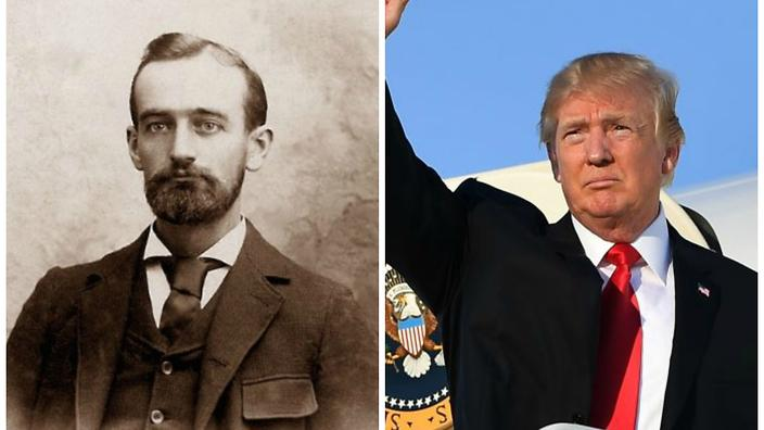 Trump's grandfather's letter, begging not to be deported as an