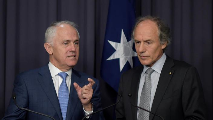 Turnbull and chief scientist Finkel