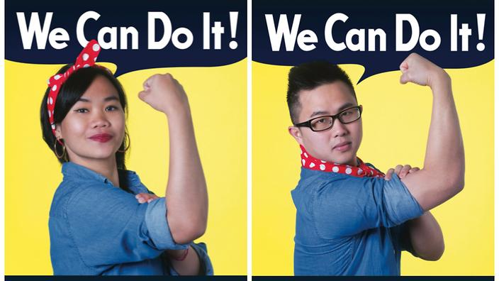 The U0027We Can Do It!u0027 Campaign By International Students Is Designed To Show  Their Strength As Job Candidates. (Outcome.Life)