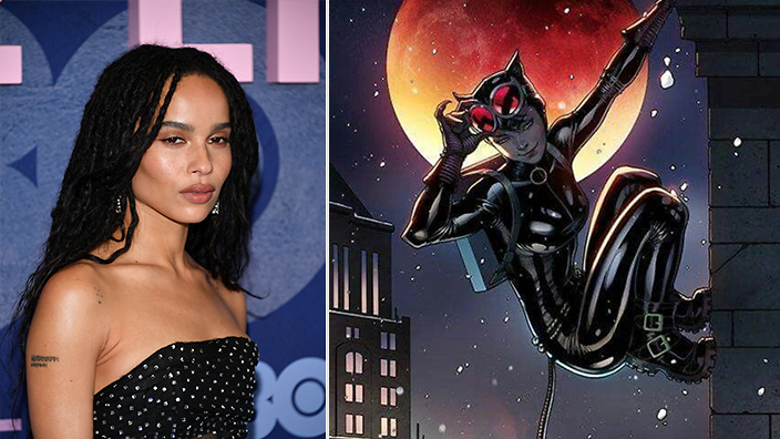 Zoe Kravitz To Play Catwoman Sbs Voices
