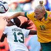Matildas representative Tameka Butt during the FIFA Women's World Cup Canada 2015