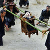 Miao People Honor Dogs In Dog Carrying Folk Festival