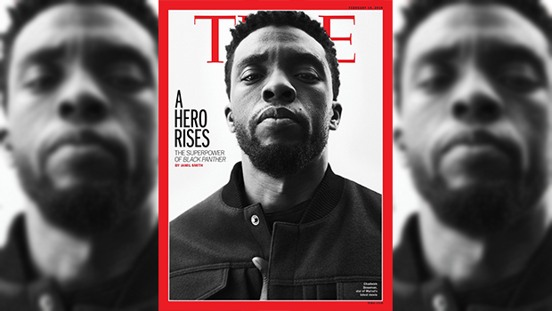 People are overjoyed about time magazines new black panther cover time magazine displays the significance of marvels new film black panther with a