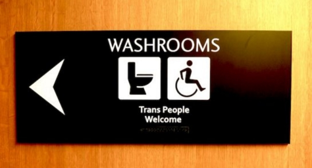 Just Bathroom Signs vancouver just introduced transgender friendly bathroom signs