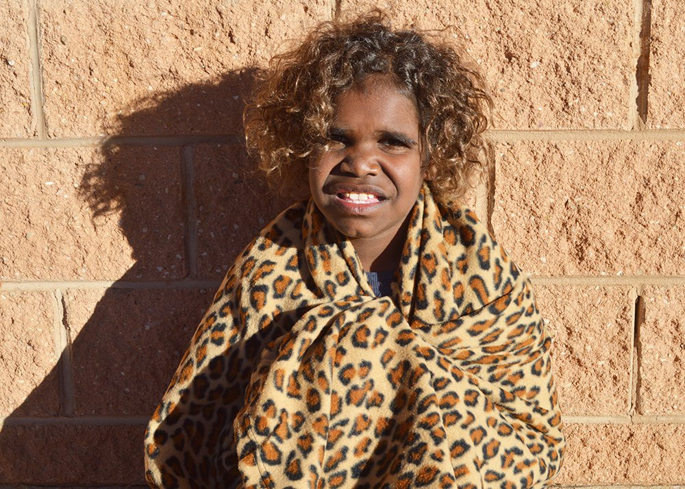 the remote aboriginal communities in need of blankets this winter