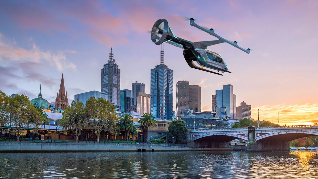 Melbourne to have flying Ubers from 2020   SBS Your Language
