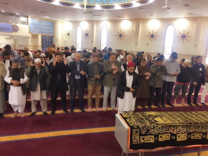 Funeral Prayer Offered For Pakistani Man Killed By Two