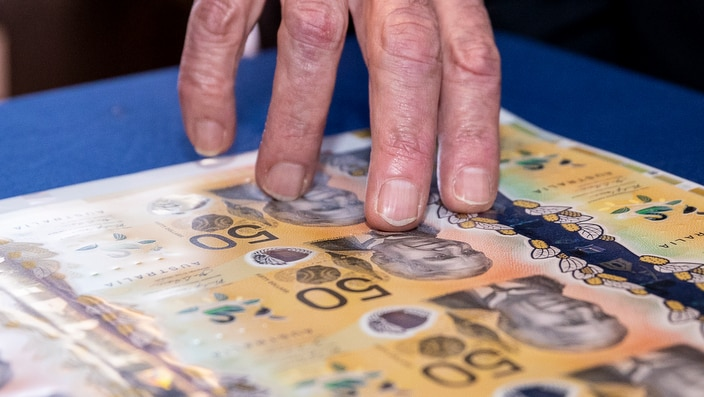 Australia's new and tactile $50 banknote has been unveiled