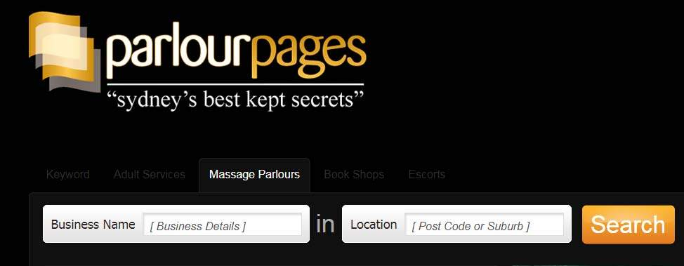 One online forum allows customers to search for massage parlours in their area