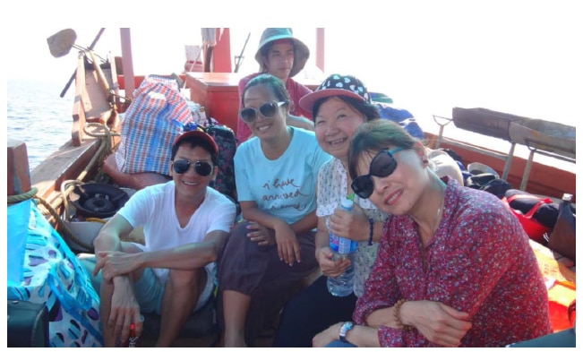Visiting Koh Kra, Hell on Earth, March 2016