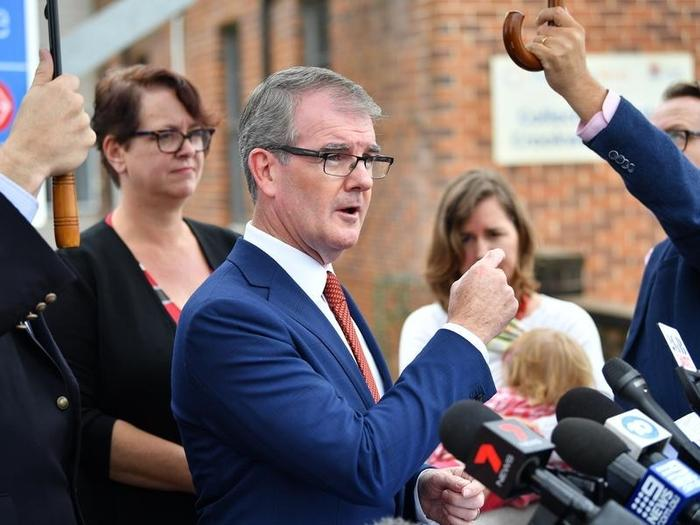 Leader of the NSW Opposition Michael Daley