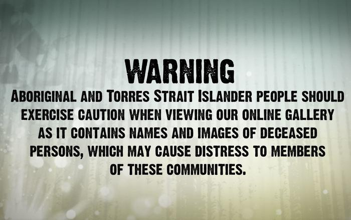 Indigenous gallery warning, NITV
