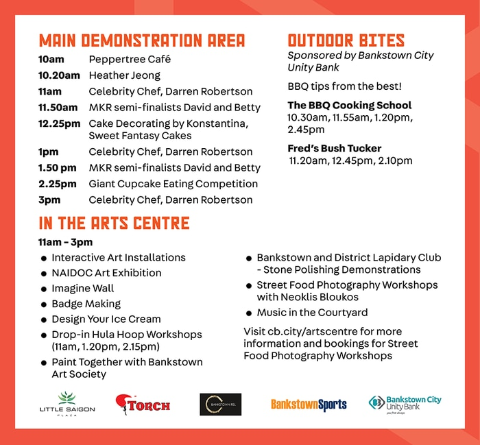 Bankstown Bites Festival Program