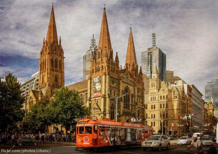 Fed Square could join one of thousands of heritage-listed places like St Paul's Cathedral.